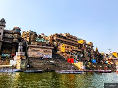 Ghat series 2 (saurpri) Tags: temple varanasi banaras assighat holy river ganges