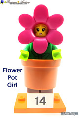 14) Flower Pot Girl (WhiteFang (Eurobricks)) Tags: lego collectable minifigures series city town space castle medieval ancient god myth minifig distribution ninja history cmfs sports hobby medical animal pet occupation costume pirates maiden batman licensed dance disco service food hospital child children knights battle farm hero paris sparta historic brick kingdom party birthday fantasy dragon fabuland circus