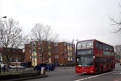Go-Ahead London Central E45 LX56ETL   Rail Replacement to Streatham Common (Unorm001) Tags: e45 e 45 lx56etl lx56 etl southern rail replacement bus service buses red services routes route