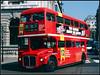 RML2499, Waterloo Place (Jason 87030) Tags: bus 12 nottinghillgate london april 1997 route service doubledecker old scan alsie red color classic vintage iconic wheels transport rml2499 jjd499d