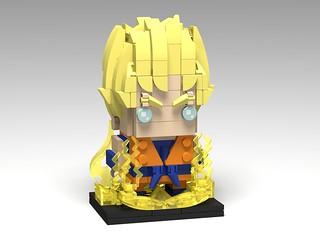 Super Saiyan Goku, Dragon Ball Z BrickHeadz