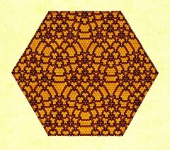 Extended Open Connection 7 (Marjan Smeijsters) (De Rode Olifant) Tags: origami tessellation paper paperfolding hexagon triangle marjansmeijsters pattern butterfly butterflymolecule openextendedconnection7 4butterflies