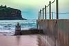 Bilgola Ocean Pool (darrinwalden Photography) Tags: sydney australia steel rust water sea ocean sand pump fence headland pool baths