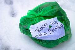 Butetown Kindness (benf1387) Tags: kindness butetown cardiff homeless snow winter cold weather brrrrr
