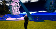 Listen in the Silence (lilasantana) Tags: machinima movie second life actor actress action art music meditation higher self photography thirdeye focus secondlife