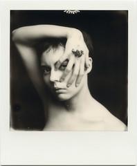 A. (denzzz) Tags: portrait polaroid blackwhite blackandwhite skancheli impossibleproject polaroidoriginals 600bw instantfilm filmphotography analogphotography slr680