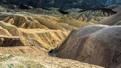 Death Valley National Park California.Zabriskie Point (Feridun F. Alkaya) Tags: nps ngc coyote usa nationalpark zabriskiepoint sanddunes jackal desert dvnp deathvalley california mesquiteflatdunes dunes saltflats salt sky landscape artistpalette artistdrive mount goldencanyon deathvalleynationalpark