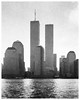 Metropolis (Alexander Dülks) Tags: usa skyscraper 1988 river hochhaus newyorkcity hudsonriver fluss manhattan worldtradecenter newyork körnig