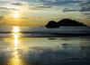 golden sunset of Goa ---Sept 2014 (@nikondxfx (instagram)) Tags: d5200 incredibleindia nikkor nikon raw september travel beach family fun goa holiday holidaying memories photography postmonsoon longexposure 1685 nikon1685 tripod southgoa palolem sunset sky color travelphotography water sea
