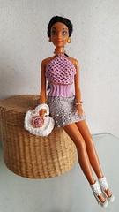 Old Barbie 1 (ЕТВ) Tags: doll barbie fasion crochet crocheting