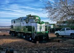 Maintenance day on the Apache Railway (rolfstumpf) Tags: usa arizona snowflake locomotive apacherailway railway alco railroad c420 shortline rs32 fujichrome mamiya