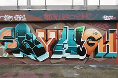 Skyhigh (JOHN19701970) Tags: skyhigh graffiti graff aerosol spray paint wall artist artwork shoreditch london bricklane e2 e1 spitalfields uk streetart march 18 2018