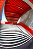 Red (Guy Goetzinger) Tags: architektur treppen goetzinger d500 nikon architecture stairway stairs escalier red fisheye outdoor abstract abstrait design