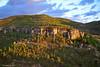 Fortress accross a fortress (Modesto Vega) Tags: nikon nikond600 d600 fullframe ceunca spain españa rocks rocas trees arboles light sunset forest sky landscape canyon cañon