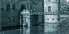 egeskov slot (rey perezoso) Tags: 2017 danmark renaissance palace castle bw denmark schloss bridge europa fyn blackandwhite wasserschloss watercastle gothic moat eu