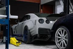 Garage-27-nissan-gtr-2 (michael_mazzoni) Tags: nissan gtr r35 nissangtr r35gtr widebody chargespeed hks advan shop cars automotive sony a7r sonya7r