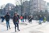 amsterdam prinsengracht (hansfoto) Tags: amsterdam schaatsen prinsengracht ice canal iceskating