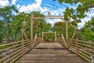Kitchener  Ontario - Canada - Historic Victoria Park Bridge  - 1892