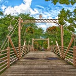Kitchener  Ontario - Canada - Historic Victoria Park Bridge  - 1892 thumbnail