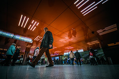 Questioning (Melissa Maples) Tags: münchen munich deutschland germany europe nikon d3300 ニコン 尼康 sigma hsm 1020mm f456 1020mmf456 winter marienplatz night station metro underground germans