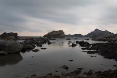 Natural Park Cap de Creus (muntsa-joan-color) Tags: beach water nature sea pink landscape roca bahia costa paisaje