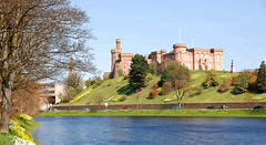 Inverness Castle, (Sheriff Court) on a Spring day (M McBey) Tags: inverness scotland castle river ness court fort riverbank sheriffcourt