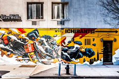 New York Street Art (jomak14) Tags: gf2 lumixg14f25 microfourthirds nyc nativem43lens newyork panasonic streetart urbanart manhattan eastvillage