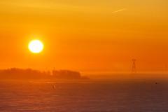 Frosty Morning on the River (skboris) Tags: fishing frost ice morning nizhnynovgorod river ropeway sun sunrise volga nizhnijnovgorod nizhegorodskayaoblast russia ru