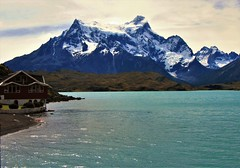 Lago Pehoe,Parque Nacional Torres Paine,patagonia Chile (Gabriel mdp) Tags: torres paine parque nacional cerro grande lago pehoe paisajes landscape naturaleza sur chile agua nieve glaciares contrastes patagonia belleza
