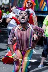 Pride in London Parade 2017 (Pride in London Photography) Tags: pride london love happens here lgbt lesbian gay bisexual transgender queer volunteer colour rainbow festival greatbritain england gbr parade party westminster