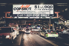 Call 1-800-Cop-Shot (TS_1000) Tags: newyork newyorkcity ny nyc leica q summilux 28mm cop nypd police night 10000 reward