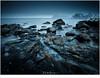 Het strand van Myrland (nandOOnline) Tags: fjord fjorden fotoreis lofoten noorwegen sneeuw winter strand myrland rotsen zee