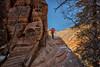 Hidden Canyon (KPortin) Tags: wilbur trail hiddencanyontrail ice chains slippery canyon zionnationalpark