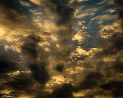 A Synthesized Wrath (that_damn_duck) Tags: nature clouds cloud sunset sundown