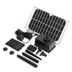 12V 5W 280L/H Solar Panel Brushless DC Water Pump With Water Outlet Caps Kits (1235617) #Banggood (SuperDeals.BG) Tags: superdeals banggood electronics 12v 5w 280lh solar panel brushless dc water pump with outlet caps kits 1235617