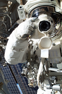 Astronaut Chris Cassidy Takes a Photo
