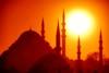 Mystic Istanbul (Philippe Vieux-Jeanton) Tags: istanbul turkey turquie minaret mosquée mosque manāra sunset red sony18135mmoss sonya6000 2018 süleymaniyemosque