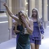 Party Girls (star79322) Tags: 2018 fashion love happy dancing smoking beautiful sexy blond blondes girls streetphotography martinplace sydney street
