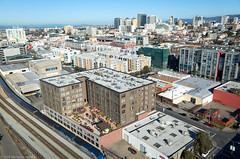 Oakland residential construction boom continues (Michael Layefsky) Tags: oakland residential realestate aerial photograph development property skyline cityscape california