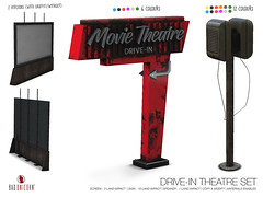 NEW! Drive-in Theatre Set @ FaMESHed (Bhad Craven 'Bad Unicorn') Tags: movies cinema drive through turh drivein thru threw desert dessert theatre old cars motel movie texture change sl • bhad craven second 2l life lindens profile picture photography bad unicorn badunicorn clothing buc bu secondlife graphics gfx graphic design photos pics photo urban mesh exclusive store blog shadows high quality production portrait image hd definition original meshes meshed 3d game characters art gaming concept concepts new top work progress wip decor decorative