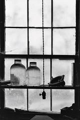 Barn Window (wdterp) Tags: monochrome blackandwhite window barn jars hww windowwednesday