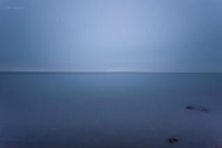 Blue Line On the Horizon