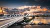 Pont Raymond Barre (Stéphane Sélo Photographies) Tags: france lyon paysage pentax pentaxk3ii pontraymondbarre rhône sigma1020f456 blending couchant landscape musée sunlight sunset