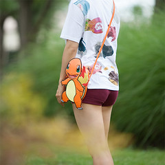 Pokemmon Charmander Faux Leather Purse (mywowstuff) Tags: gifts gadgets cool family friends funny shopping men women kids home