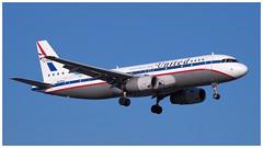 N475UA (gankp) Tags: ronaldreagannationalairport dca airplanespotting arrivals united retro