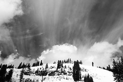 Through_路過_2018.0309@Truckee, CA_E4264 (KT Shiue) Tags: california truckee rainbowbridge cloud mountain snow weather donnerlake rocky
