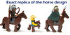 Exact replica of the horse design (WhiteFang (Eurobricks)) Tags: lego collectable minifigures series city town space castle medieval ancient god myth minifig distribution ninja history cmfs sports hobby medical animal pet occupation costume pirates maiden batman licensed dance disco service food hospital child children knights battle farm hero paris sparta historic brick kingdom party birthday fantasy dragon fabuland circus