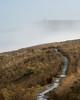 The Old Packhorse Trail (mattwells1986) Tags: nikon d7100 70300 todmorden walsden west yorkshire pack horse packhorse path trail moorland hill stoodley pike monument cloud inversion mist fog moor bleak bog