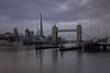 London landscape with imposing Shard (ibn_sina001) Tags: london shard canon eos 6d long exposure thames river