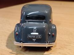 Citroën Traction 15 (Jack 1954) Tags: car collection citroën miniature ancêtre voiture